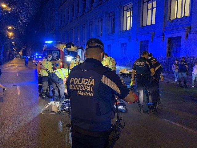 Identificado el conductor que arrolló a un joven el sábado en Cibeles, que murió horas después