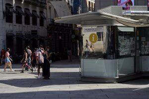 La llegada de turistas extranjeros a Madrid y su gasto se triplica en julio pese a caer casi un 60% anual