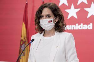 El Instituto Bruno Leoni de Italia premiará a Ayuso por sus políticas en defensa de la libertad durante la pandemia