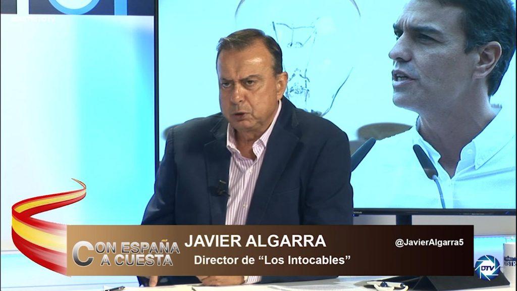 """Javier Algarra: """"El Gobierno miente y se escuda en la UE, hemos roto récords en precios de la luz"""""""