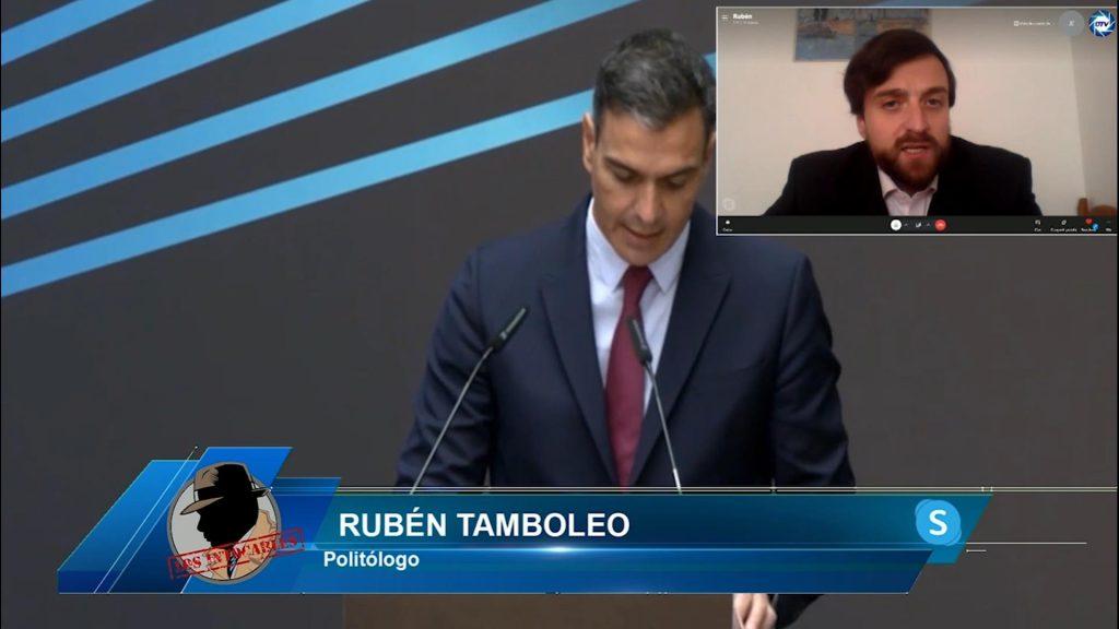 """Rubén Tamboleo: """"Las ayudas que quiere dar Sánchez en La Palma son una miseria"""""""