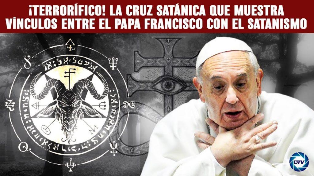 ¡Espeluznante! Jesús Ángel Rojo devela el mensaje satánico que esconde la cruz del papa Francisco