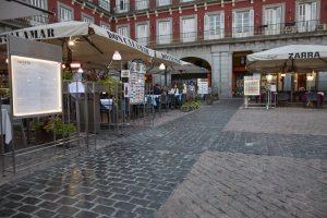 Madrid ha destinado 1.927 plazas de estacionamiento a albergar terrazas Covid