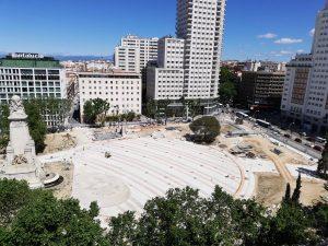 Hallazgos arqueológicos en Plaza de España incrementan 12 millones el presupuesto de las obras